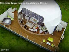 バリエーションが豊富な海外のドームハウス事例