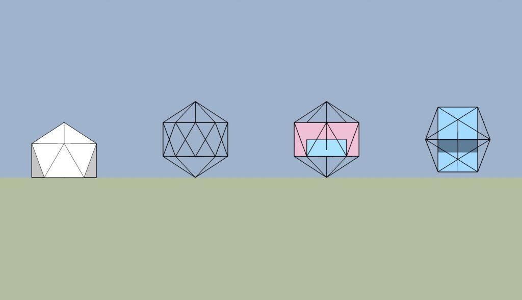 geodesicの中の黄金比長方形01_2