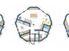 10mドーム キッチン3パターン