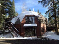 アメリカのコロラド州にある5つ星のドームハウス