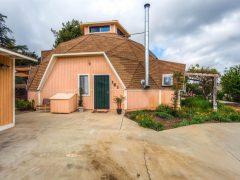 アメリカ・カリフォルニア州サンディエゴ郡ビスタにあるドームハウス