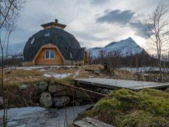 ノルウェーのギルデスカルにあるドームハウス