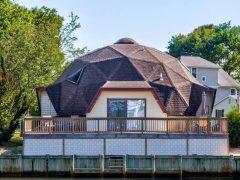 アメリカのメリーランド州オーシャンシティにあるドームハウス
