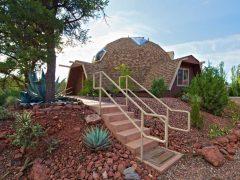 アメリカのアリゾナ州セドナにあるドームハウス その2