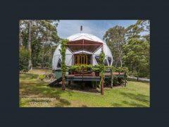 オーストラリアのタスマニア州ホバートにあるドームハウス