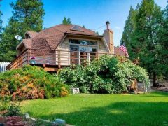 アメリカのカリフォルニア州ポートラにあるドームハウス