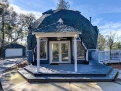 アメリカのカリフォルニア州エルドラドにあるドームハウス