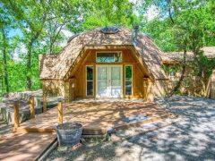 アメリカのテキサス州タイラーにあるドームハウス