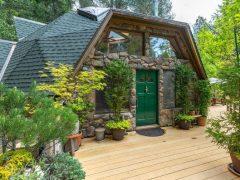 アメリカのカリフォルニア州アルタにあるドームハウス