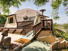 アメリカのロサンゼルス州イーグルロックにあるドームハウス